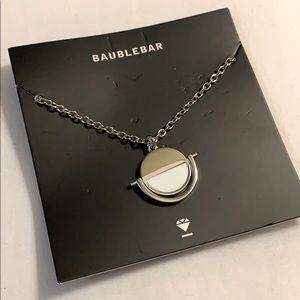 Baublebar Snowfall Reversible Pendant Necklace